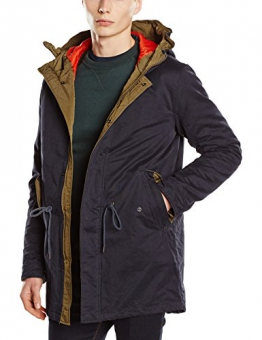 Jack & Jones Herren, Parka, Regenmantel, jjvcCRAIG PARKA JACKET, GR. Small (Herstellergröße: Small), Blau (dark Navy/slim Fit) - 1