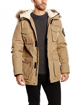 Jack & Jones Herren, Parka, Regenmantel, jjvcLOOP PARKA JACKET, GR. X-Large (Herstellergröße: X-Large), Grau (lead Gray/slim Fit) - 1