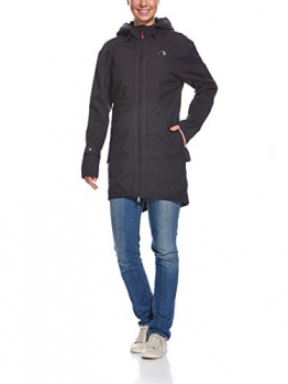 Tatonka Damen Mantel Healy Womens Parka, Black, 40, N413 - 1
