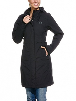 Tatonka Damen Mantel Tabara Coat, Black, 40, A177 - 1