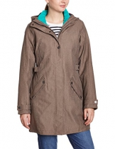VAUDE Damen Doppeljacke Womens Belco 3 In 1 Coat, Brick, 38, 04719 - 1