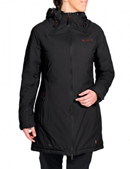 VAUDE Damen Jacke Altiplano Coat, Black, 36, 05989 - 1