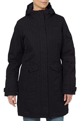 VAUDE Damen Mantel Womens Yale Coat VI, Black, 40, 04828 - 1